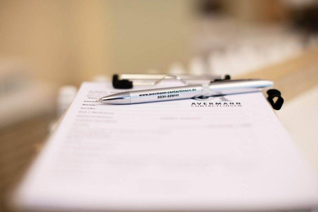 Avermann Contactlinsen persönliche Anpassung von Kontaktlinsen